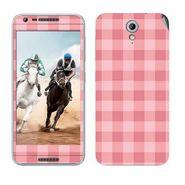 Snooky 41458 Digital Print Mobile Skin Sticker For HTC Desire 820 mini - Pink