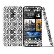 Snooky 41494 Digital Print Mobile Skin Sticker For HTC One mini - White
