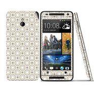 Snooky 41495 Digital Print Mobile Skin Sticker For HTC One mini - Brown