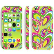 Snooky 41527 Digital Print Mobile Skin Sticker For Apple Iphone 5C - multicolour