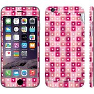 Snooky 41545 Digital Print Mobile Skin Sticker For Apple Iphone 6 - Pink