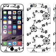 Snooky 41546 Digital Print Mobile Skin Sticker For Apple Iphone 6 - White