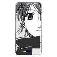 Snooky 41785 Digital Print Mobile Skin Sticker For Lava Iris Pro 20 - Grey