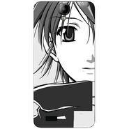 Snooky 41922 Digital Print Mobile Skin Sticker For Intex Aqua Amaze - Grey