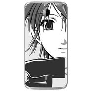 Snooky 42021 Digital Print Mobile Skin Sticker For Intex Aqua i14 - Grey