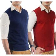 Pack of 2 Sleeveless Sweaters For Men_Srihs10