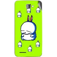 Snooky 46206 Digital Print Mobile Skin Sticker For Micromax Canvas Mad A94 - Green