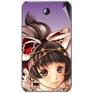 Snooky 46294 Digital Print Mobile Skin Sticker For Micromax Superfone A101 - Multicolour