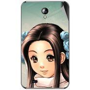 Snooky 46295 Digital Print Mobile Skin Sticker For Micromax Superfone A101 - Multicolour