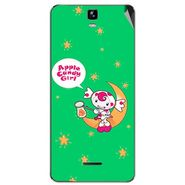 Snooky 46712 Digital Print Mobile Skin Sticker For Micromax Canvas HD Plus A190 - Green