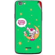 Snooky 47223 Digital Print Mobile Skin Sticker For Xolo A500s Lite - Green