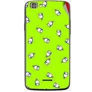 Snooky 47233 Digital Print Mobile Skin Sticker For Xolo A500s Lite - Green