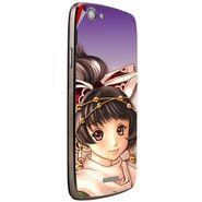 Snooky 47253 Digital Print Mobile Skin Sticker For Xolo A510S - Multicolour