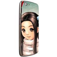 Snooky 47254 Digital Print Mobile Skin Sticker For Xolo A510S - Multicolour