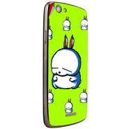 Snooky 47261 Digital Print Mobile Skin Sticker For Xolo A510S - Green