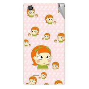 Snooky 47314 Digital Print Mobile Skin Sticker For Xolo A550S IPS - Orange