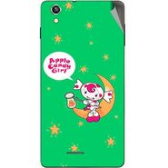 Snooky 47383 Digital Print Mobile Skin Sticker For Xolo A1010 - Green