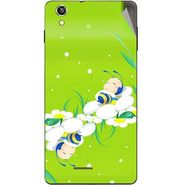 Snooky 47386 Digital Print Mobile Skin Sticker For Xolo A1010 - Green