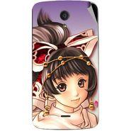Snooky 47413 Digital Print Mobile Skin Sticker For Xolo Omega 5.0 - Multicolour