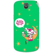Snooky 47511 Digital Print Mobile Skin Sticker For Xolo Q600 - Green