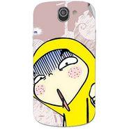 Snooky 47536 Digital Print Mobile Skin Sticker For Xolo Q600 - Multicolour