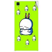 Snooky 47549 Digital Print Mobile Skin Sticker For Xolo Q600s - Green