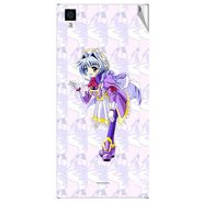 Snooky 47562 Digital Print Mobile Skin Sticker For Xolo Q600s - Purple