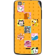 Snooky 47583 Digital Print Mobile Skin Sticker For Xolo Q610s - Yellow