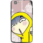 Snooky 47600 Digital Print Mobile Skin Sticker For Xolo Q610s - Multicolour