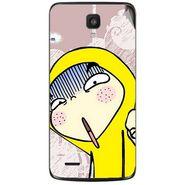 Snooky 47632 Digital Print Mobile Skin Sticker For Xolo Q700 - Multicolour