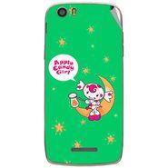 Snooky 47639 Digital Print Mobile Skin Sticker For Xolo Q700s - Green