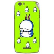 Snooky 47645 Digital Print Mobile Skin Sticker For Xolo Q700s - Green