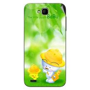 Snooky 47673 Digital Print Mobile Skin Sticker For Xolo Q800 - Green