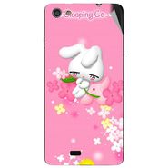 Snooky 47736 Digital Print Mobile Skin Sticker For Xolo Q900S - Pink