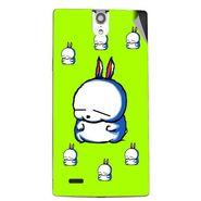 Snooky 47837 Digital Print Mobile Skin Sticker For Xolo Q1010i - Green