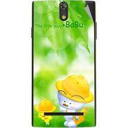 Snooky 47865 Digital Print Mobile Skin Sticker For Xolo Q1020 - Green