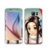 Snooky 48213 Digital Print Mobile Skin Sticker For Samsung Galaxy S6 - Multicolour