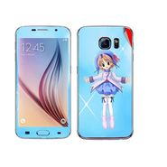 Snooky 48229 Digital Print Mobile Skin Sticker For Samsung Galaxy S6 - Blue