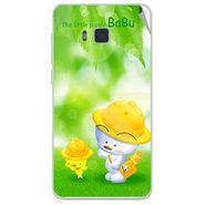 Snooky 48408 Digital Print Mobile Skin Sticker For Lava Iris 406Q - Green