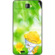 Snooky 48472 Digital Print Mobile Skin Sticker For Lava Iris 502 - Green