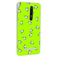 Snooky 48512 Digital Print Mobile Skin Sticker For Lava Iris 503 - Green
