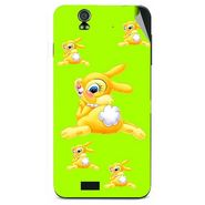 Snooky 48609 Digital Print Mobile Skin Sticker For Lava Iris selfie 50 - Green