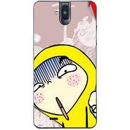 Snooky 48719 Digital Print Mobile Skin Sticker For Lava Iris 550Q - Multicolour