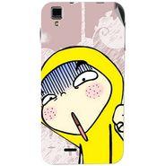 Snooky 48751 Digital Print Mobile Skin Sticker For Lava Iris 405 Plus - Multicolour