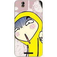 Snooky 48879 Digital Print Mobile Skin Sticker For Lava Iris X1 Grand - Multicolour