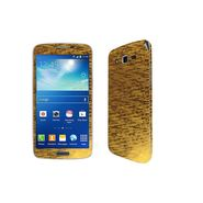 Snooky 18203 Mobile Skin Sticker For Samsung Galaxy Grand 2 G7102 - Gold