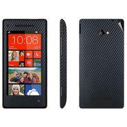 Snooky 18306 Mobile Skin Sticker For Htc 8X - Black