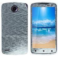 Snooky 18697 Mobile Skin Sticker For Lenovo S920 - Silver