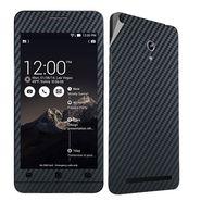 Snooky 20515 Mobile Skin Sticker For Asus Zenfone 6 - Black