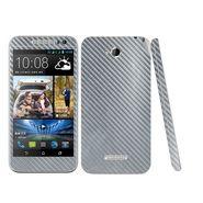Snooky 20621 Mobile Skin Sticker For HTC Desire 616 - silver